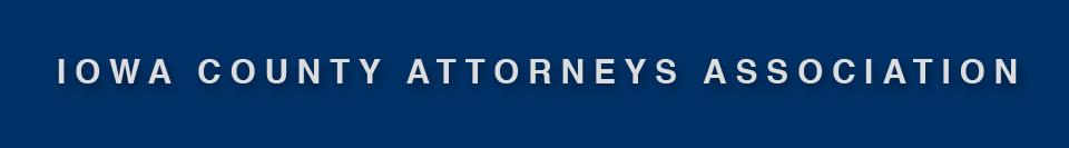 Iowa County Attorneys Association